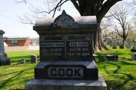COOK, ASA - Wayne County, Ohio | ASA COOK - Ohio Gravestone Photos
