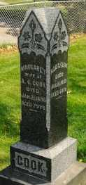 COOK, MARGARET - Wayne County, Ohio | MARGARET COOK - Ohio Gravestone Photos