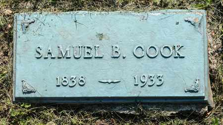 COOK, SAMUEL B. - Wayne County, Ohio | SAMUEL B. COOK - Ohio Gravestone Photos