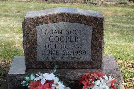 COOPER, LOGAN SCOTT - Wayne County, Ohio | LOGAN SCOTT COOPER - Ohio Gravestone Photos