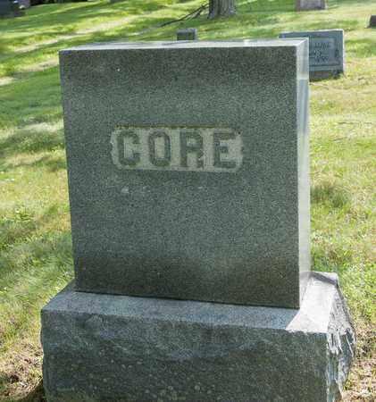 CULBERTSON CORE, LUCY ANN - Wayne County, Ohio | LUCY ANN CULBERTSON CORE - Ohio Gravestone Photos
