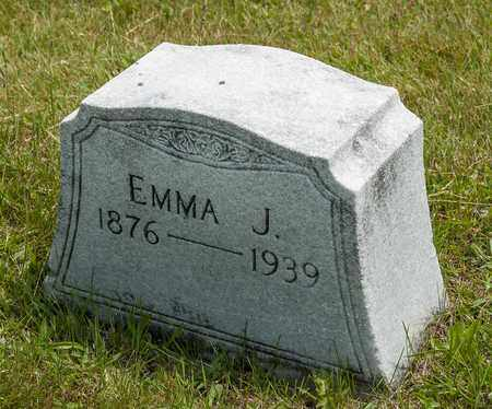 GROW CORE, EMMA J. - Wayne County, Ohio | EMMA J. GROW CORE - Ohio Gravestone Photos