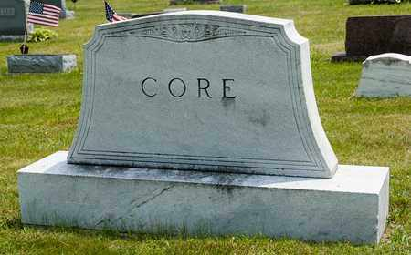 CORE, WILLIAM G;. - Wayne County, Ohio | WILLIAM G;. CORE - Ohio Gravestone Photos