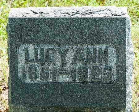 CORE, LUCY ANN - Wayne County, Ohio | LUCY ANN CORE - Ohio Gravestone Photos