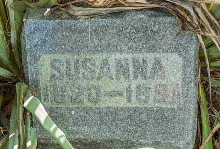 CORE, SUSANNA - Wayne County, Ohio | SUSANNA CORE - Ohio Gravestone Photos