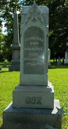 COX, JACOB - Wayne County, Ohio | JACOB COX - Ohio Gravestone Photos