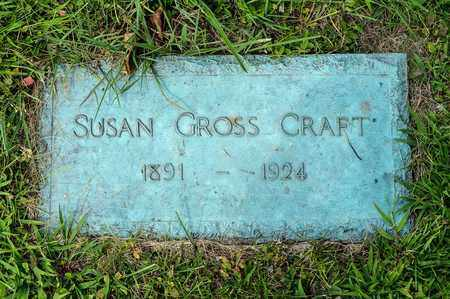 GROSS CRAFT, SUSAN - Wayne County, Ohio | SUSAN GROSS CRAFT - Ohio Gravestone Photos