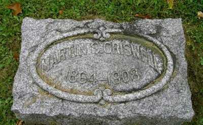 CRISWELL, MARTIN S. - Wayne County, Ohio | MARTIN S. CRISWELL - Ohio Gravestone Photos