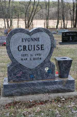 CRUISE, EVONNE - Wayne County, Ohio | EVONNE CRUISE - Ohio Gravestone Photos