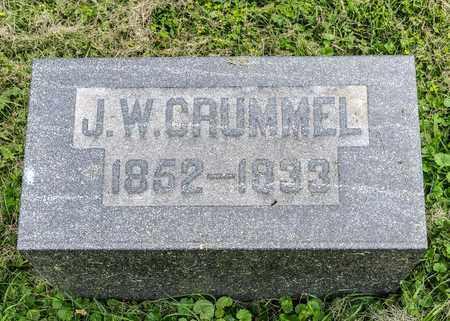 CRUMMEL, JOHN W. - Wayne County, Ohio | JOHN W. CRUMMEL - Ohio Gravestone Photos