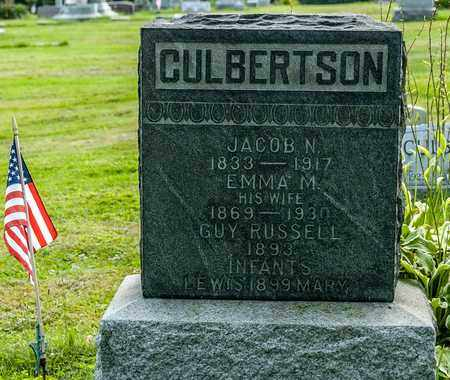 FRANKS CULBERTSON, EMMA M. - Wayne County, Ohio | EMMA M. FRANKS CULBERTSON - Ohio Gravestone Photos