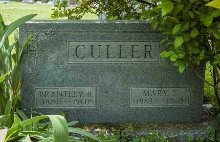 CULLER, MARY E. - Wayne County, Ohio | MARY E. CULLER - Ohio Gravestone Photos