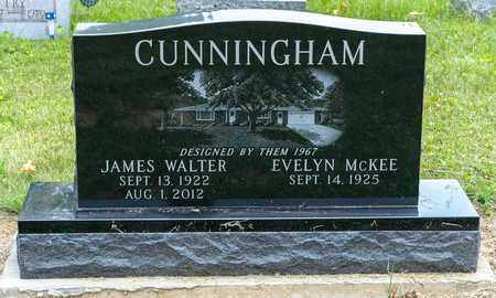 CUNNINGHAM, JAMES WALTER - Wayne County, Ohio | JAMES WALTER CUNNINGHAM - Ohio Gravestone Photos