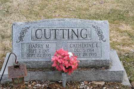 CUTTING, CATHERINE E. - Wayne County, Ohio | CATHERINE E. CUTTING - Ohio Gravestone Photos