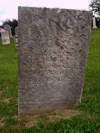 DAGUE, ELIZABETH - OVERALL VIEW - Wayne County, Ohio | ELIZABETH - OVERALL VIEW DAGUE - Ohio Gravestone Photos