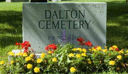 DALTON, CEMETERY - Wayne County, Ohio | CEMETERY DALTON - Ohio Gravestone Photos