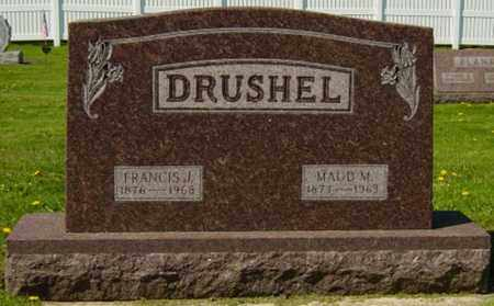 DRUSHEL, MAUD MINNIE - Wayne County, Ohio | MAUD MINNIE DRUSHEL - Ohio Gravestone Photos