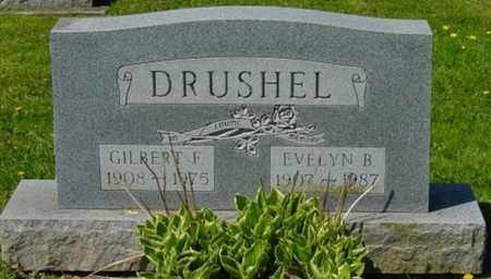 DRUSHEL, GILBERT F. - Wayne County, Ohio | GILBERT F. DRUSHEL - Ohio Gravestone Photos