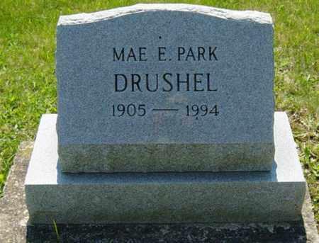 PARK DRUSHEL, MAE E. - Wayne County, Ohio | MAE E. PARK DRUSHEL - Ohio Gravestone Photos