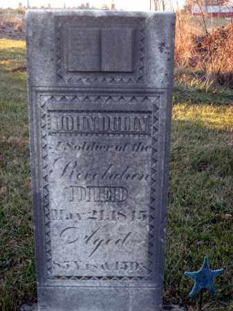 DULIN, JOHN - Wayne County, Ohio | JOHN DULIN - Ohio Gravestone Photos