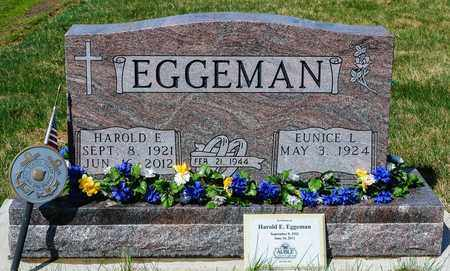 EGGEMAN, HAROLD E - Wayne County, Ohio | HAROLD E EGGEMAN - Ohio Gravestone Photos