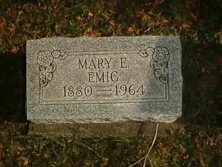 KAISER EMIG, MARY E. - Wayne County, Ohio | MARY E. KAISER EMIG - Ohio Gravestone Photos