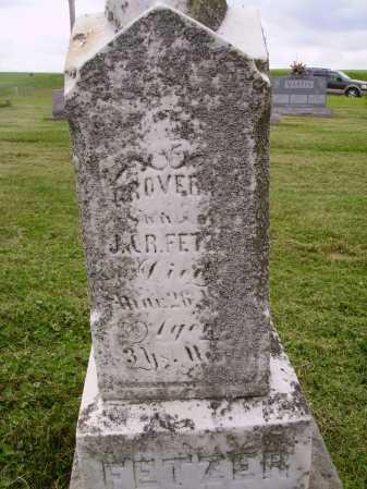 FETZER, GROVER C. - Wayne County, Ohio   GROVER C. FETZER - Ohio Gravestone Photos