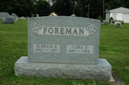 FOREMAN, CORA ELIZABETH - Wayne County, Ohio | CORA ELIZABETH FOREMAN - Ohio Gravestone Photos