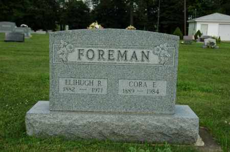 SAUDER FOREMAN, CORA ELIZABETH - Wayne County, Ohio | CORA ELIZABETH SAUDER FOREMAN - Ohio Gravestone Photos