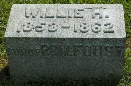 FOUST, WILLIE H. - Wayne County, Ohio | WILLIE H. FOUST - Ohio Gravestone Photos