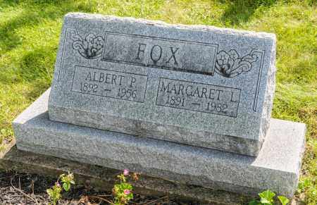 FOX, ALBERT P. - Wayne County, Ohio | ALBERT P. FOX - Ohio Gravestone Photos
