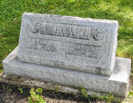 FOX, WARD A. - Wayne County, Ohio | WARD A. FOX - Ohio Gravestone Photos