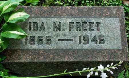 FREET, IDA. M. - Wayne County, Ohio | IDA. M. FREET - Ohio Gravestone Photos