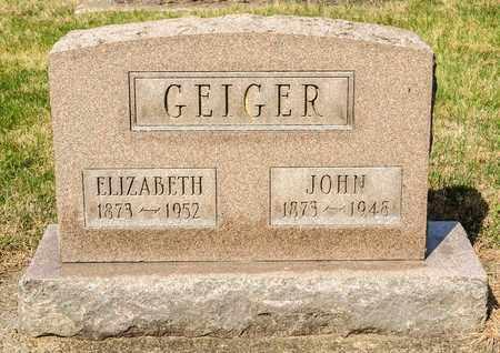 GEIGER, ELIZABETH - Wayne County, Ohio | ELIZABETH GEIGER - Ohio Gravestone Photos
