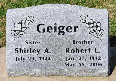 GEIGER, ROBERT L - Wayne County, Ohio | ROBERT L GEIGER - Ohio Gravestone Photos