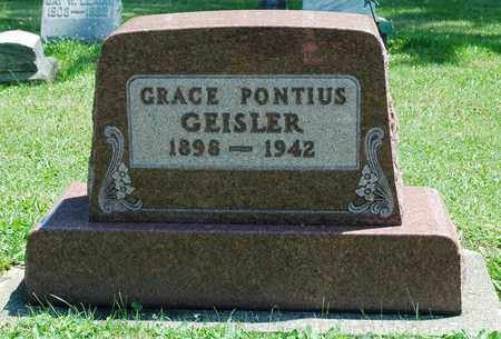 GEISLER, GRACE - Wayne County, Ohio | GRACE GEISLER - Ohio Gravestone Photos