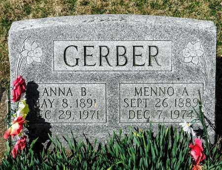 GERBER, ANNA B - Wayne County, Ohio | ANNA B GERBER - Ohio Gravestone Photos