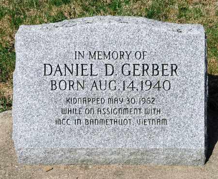 GERBER, DANIEL D - Wayne County, Ohio | DANIEL D GERBER - Ohio Gravestone Photos