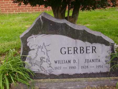 GERBER, JUANITA - Wayne County, Ohio | JUANITA GERBER - Ohio Gravestone Photos