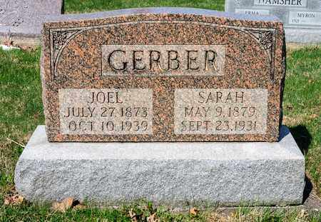GERBER, JOEL - Wayne County, Ohio | JOEL GERBER - Ohio Gravestone Photos