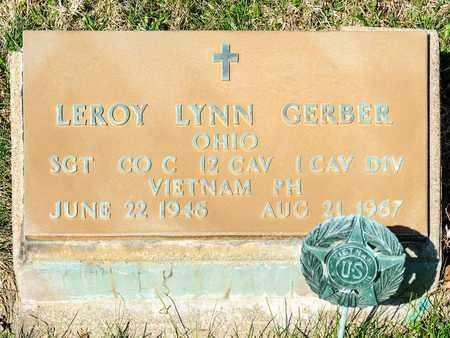 GERBER, LEROY LYNN - Wayne County, Ohio | LEROY LYNN GERBER - Ohio Gravestone Photos