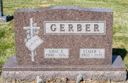 GERBER, LINA E - Wayne County, Ohio | LINA E GERBER - Ohio Gravestone Photos