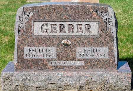 GERBER, PAULINE - Wayne County, Ohio | PAULINE GERBER - Ohio Gravestone Photos