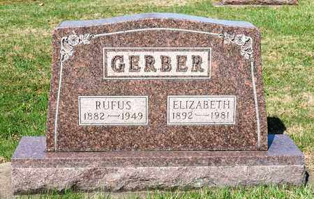 GERBER, RUFUS - Wayne County, Ohio | RUFUS GERBER - Ohio Gravestone Photos