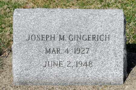 GINGERICH, JOSEPH M - Wayne County, Ohio | JOSEPH M GINGERICH - Ohio Gravestone Photos