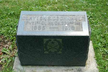 GOCHNAUER, CLAYTON S. - Wayne County, Ohio | CLAYTON S. GOCHNAUER - Ohio Gravestone Photos