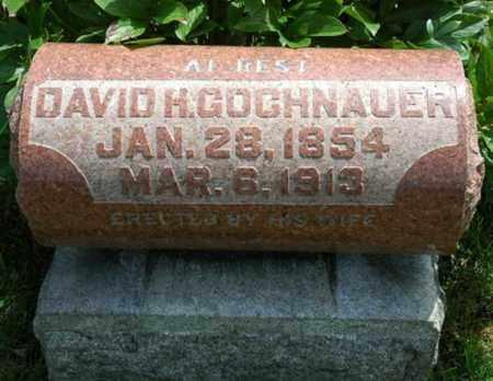 GOCHNAUER, DAVID - Wayne County, Ohio | DAVID GOCHNAUER - Ohio Gravestone Photos