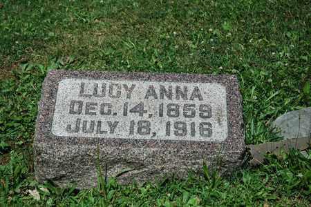 SAUDER GOCHNAUER, LUCY ANNA - Wayne County, Ohio | LUCY ANNA SAUDER GOCHNAUER - Ohio Gravestone Photos