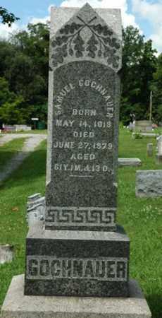 GOCHNAUER, SAMUEL - Wayne County, Ohio | SAMUEL GOCHNAUER - Ohio Gravestone Photos