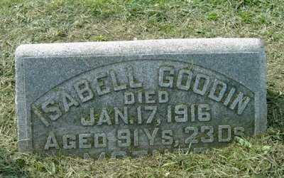 GREGGOR GOODIN, ISABELL - Wayne County, Ohio | ISABELL GREGGOR GOODIN - Ohio Gravestone Photos